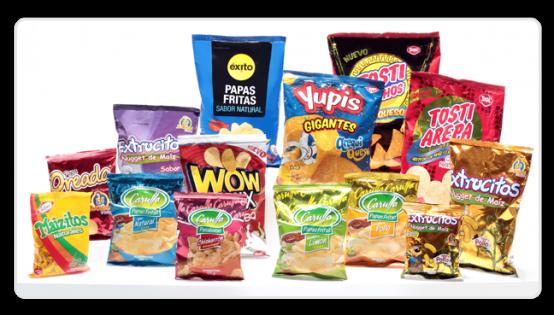 Comprar Empaques Para Snacks y Pasabocas