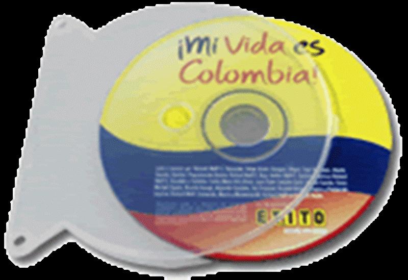 Comprar Estuche Plástico Flexible - Para CD ó DVD