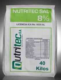 Comprar Sal Mineral Nutritec Sal 8%