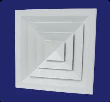 Comprar Difusor de techo con elemento central removible sin dámper L-AV
