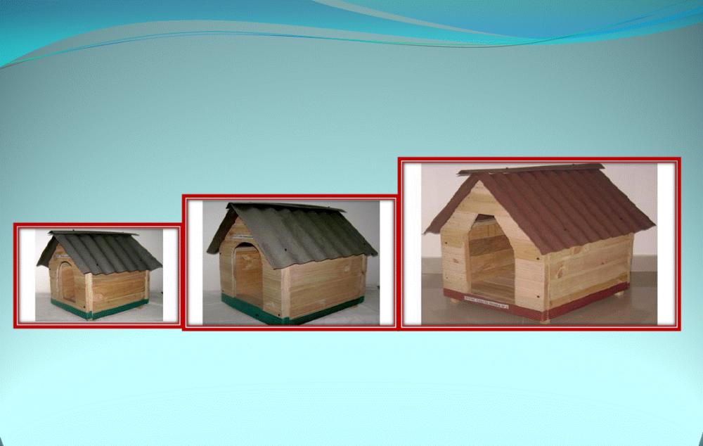 Comprar Casa en pino para perros No 01-1-2