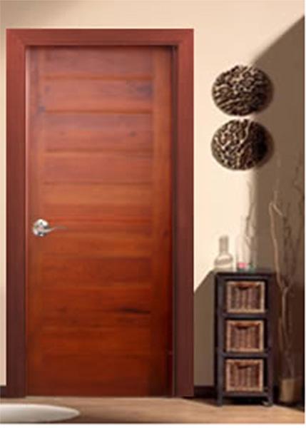 puerta fabricada en madera slida loft i