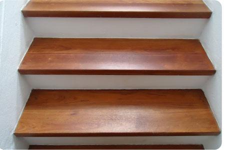 escaleras de madera more