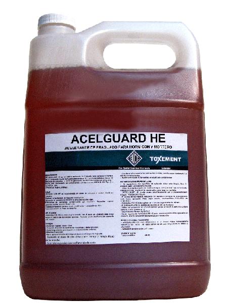 Acelerante de fraguado para hormigón y mortero  Accelguard HE