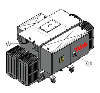 Comprar Transformadores para Rectificadores de 6, 12 y 24 750 A1.2T 480 01