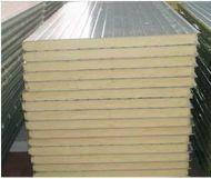 Comprar Panel Sanwich de Poliuretano con recubrimiento en Lámina de Acero