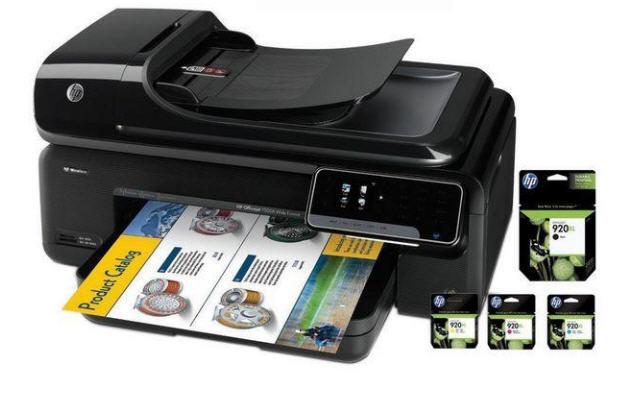 Comprar HP Multifunción color Officejet 7500A de red + inalámbrica A3
