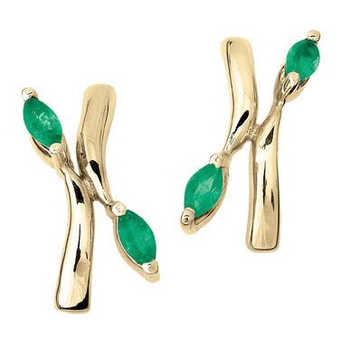 49aab84bfa7d Aretes con esmeraldas comprar en Cali