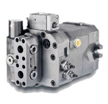 Motor de pistones Linde HMR-02-Regulable