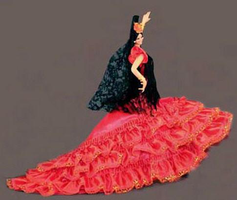 Comprar Muñecas Flamencas de España. Mod. Malaga