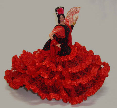 Comprar Muñeca Flamenca de Marin. Mod. Esperanza