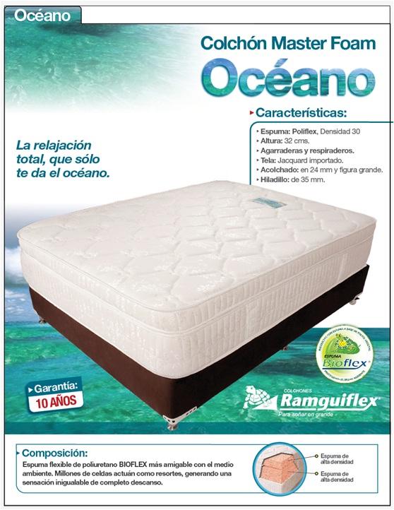 Comprar Colchón Master Foam - Océano