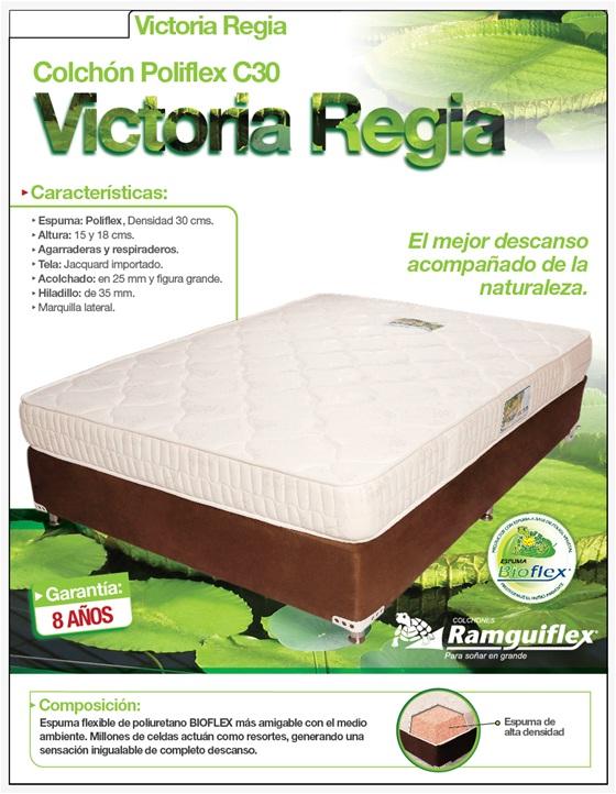 Comprar Colchón Poliflex C30 - Victoria Regia