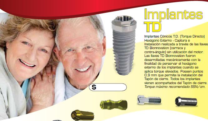 Comprar Implantes TD