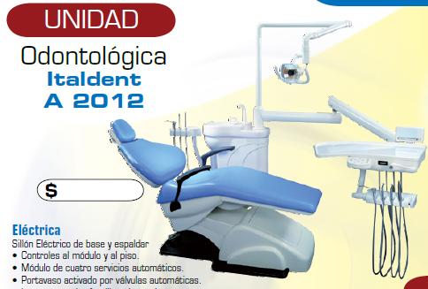 Comprar Unidad Odontológica Italdent A 2012