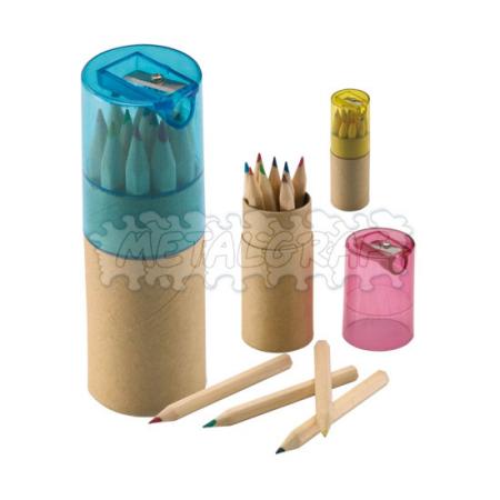 Comprar Lápices Set Colores Tajalápiz
