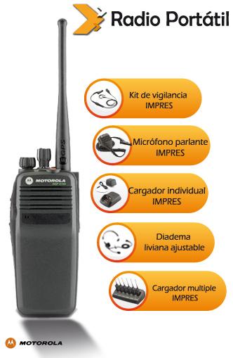Comprar Radios Digitales DGP 4150