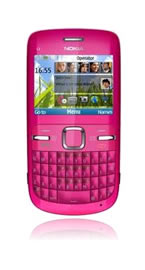 Comprar Nokia C3 Rosado