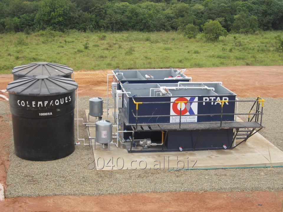 Comprar Plantas De Tratamiento De Aguas Residuales Ptar