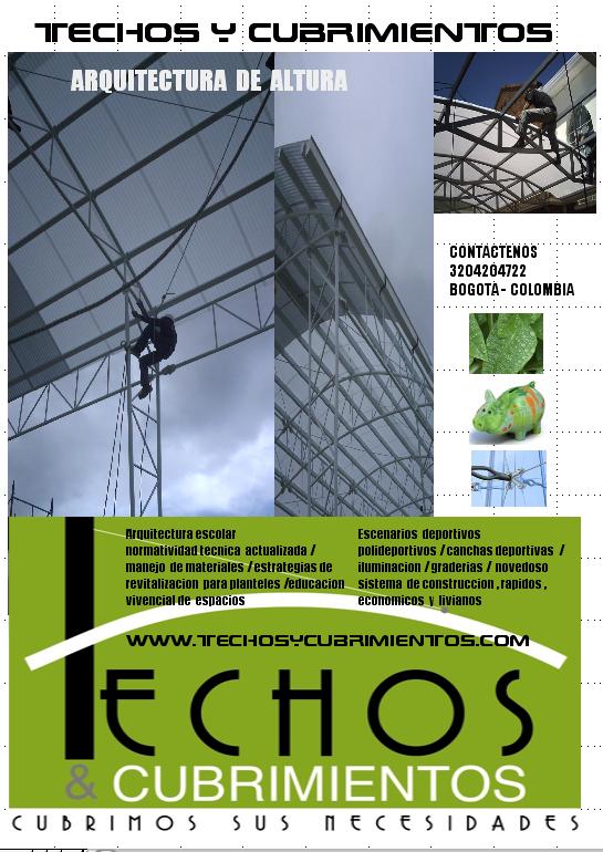 3132754507 www.Techos y Cubrimientos.com Bogota