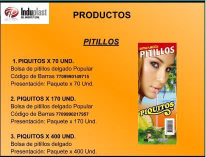 Comprar PITILLO PIQUITOS