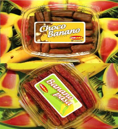 Comprar Venta de banano deshidratado y chocobanano