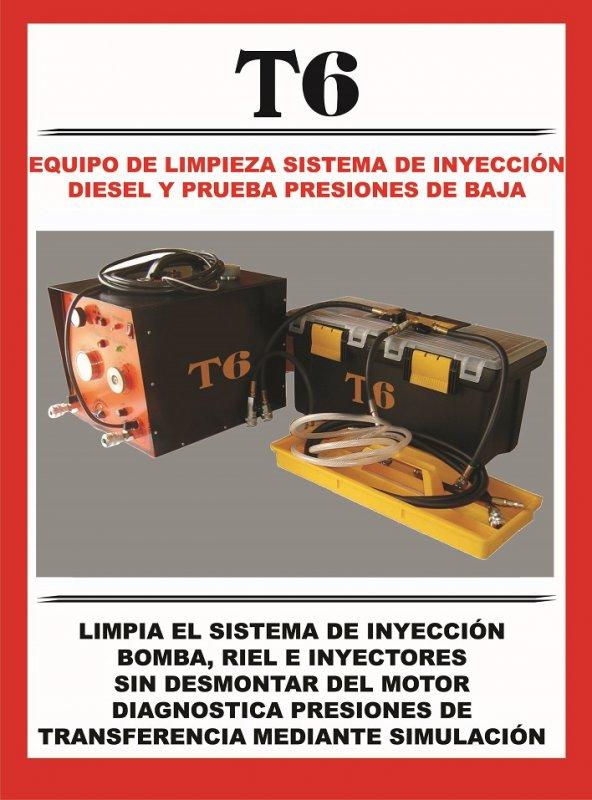 Comprar Equipo Limpiador Sistema de Inyección Diesel