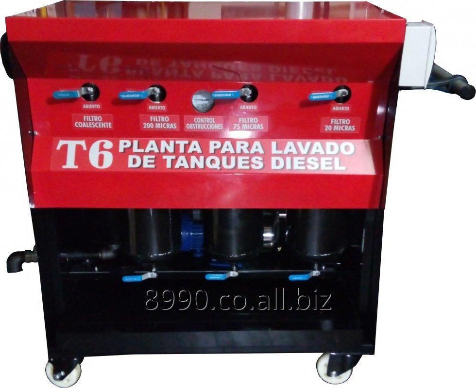 Comprar Planta Lavado Tanques Combustible Diesel