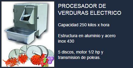 Comprar Procesador de alimentos electrico