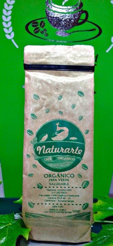 Comprar Café orgánico tostado 500 gr.