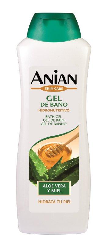 Comprar Gel de Baño ANIAN Aloe Vera y Miel 750 ML