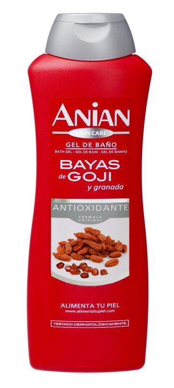 Comprar Gel de Baño ANIAN Bayas de Goji 750 ML