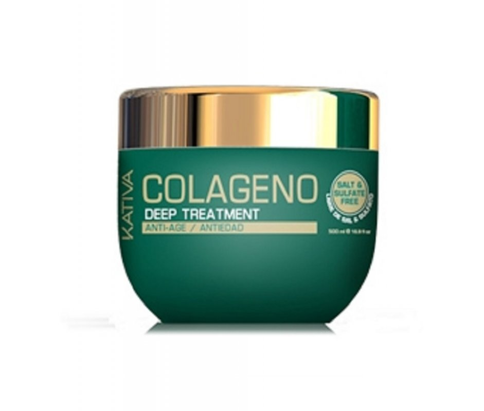 Comprar Tratamiento Intensivo Sin Sal Kativa Natural Colágeno Antiedad 250 ML