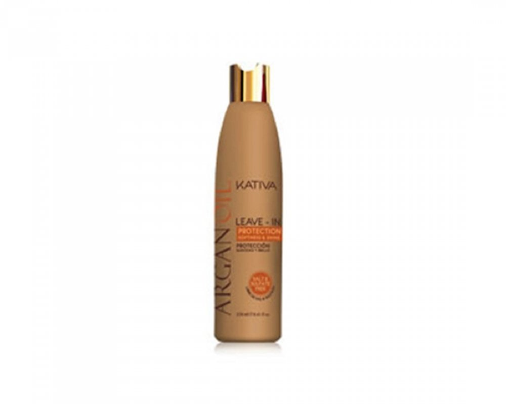 Crema de peinar Sin Sal Kativa Natural Argan Oil 250 ML