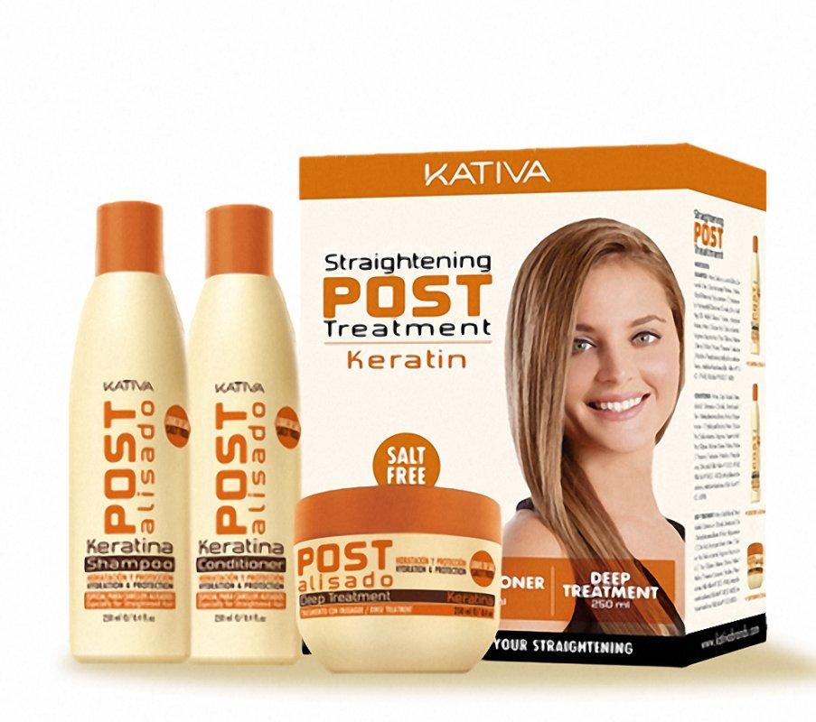 Comprar Tratamiento Post Alisado Kativa Caja Kit