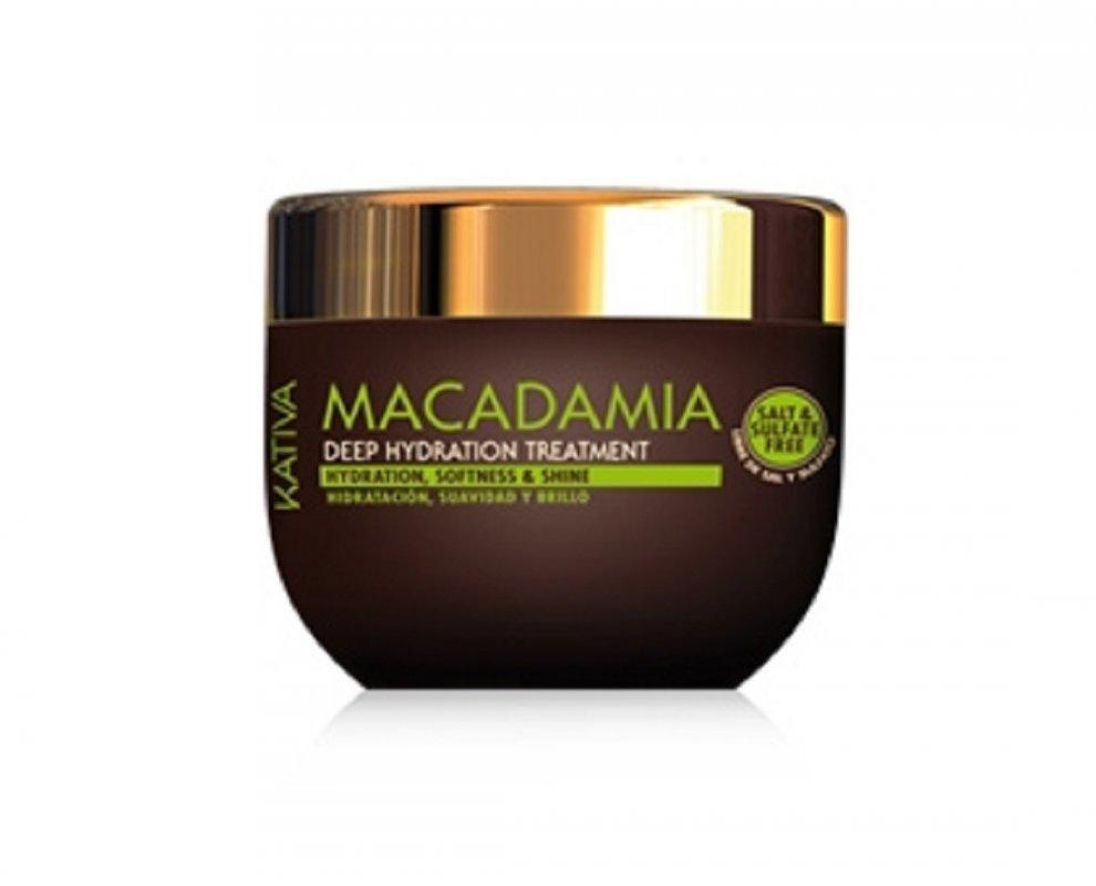 Comprar Tratamiento Intensivo Sin Sal Kativa Natural Macadamia Hidratante Intensivo 250 ML.
