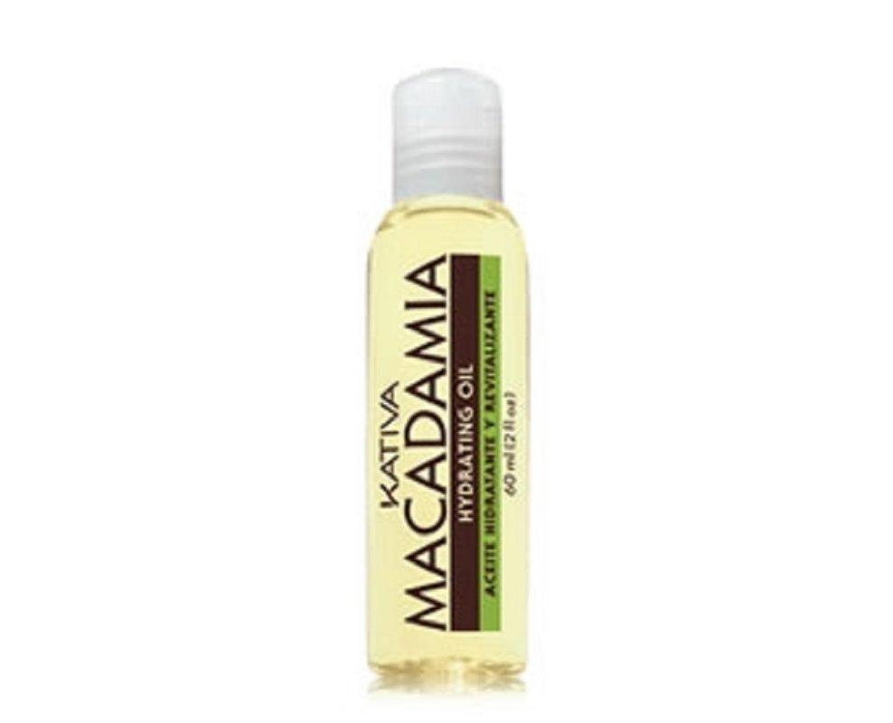 Comprar Aceite Puro Kativa Natural Macadamia Hidratante y Revitalizante 60 ML