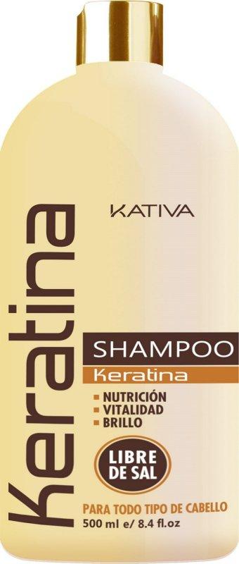 Comprar Shampoo Sin Sal Kativa Natural Keratina 500 ML