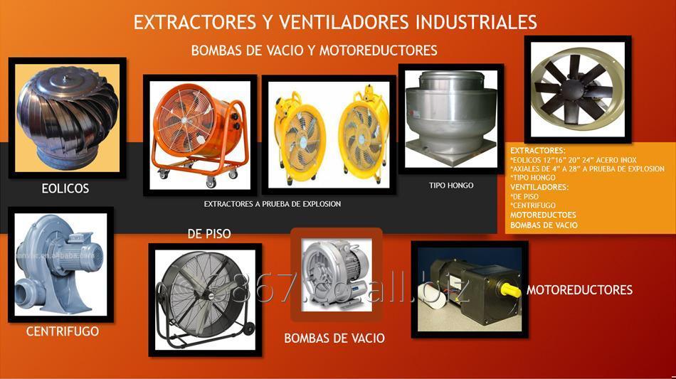 Comprar Extractores Y Ventiladores Industriales