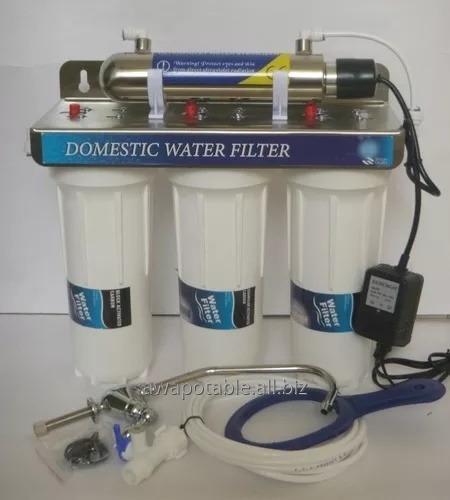 Comprar Filtro 4 etapas agua casa 200 LPD UV