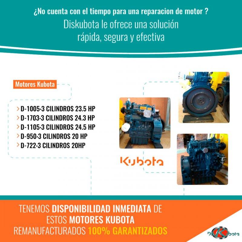Comprar Motores kubota
