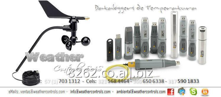Comprar Registradores de Temperatura Ambiental y de Proceso