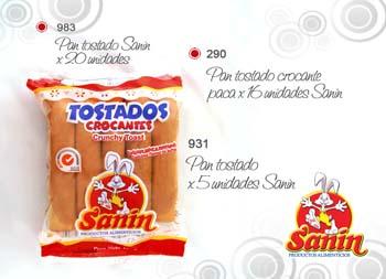 Comprar Tostados Crocantes Sanin