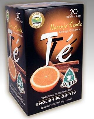 Comprar Té negro saborizado Naranja - Canela