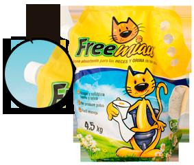 Compro Arena para Gatos Freemiau