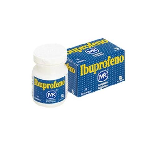 Comprar Ibuprofeno MK 200 mg - Grageas