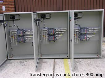 Transferencias Automáticas de Contactores