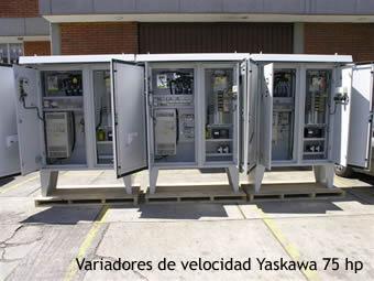 Tableros Variadores de Velocidad Yaskawa
