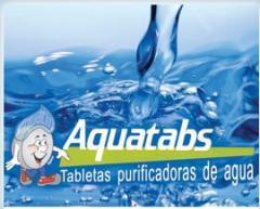 Aquatabs® tabletas para purificar aguas