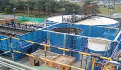 Installations for water treating